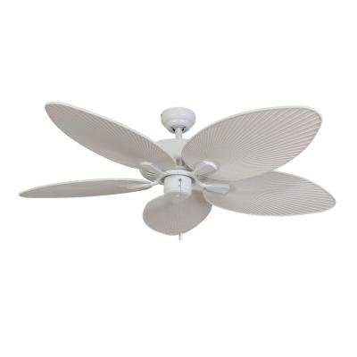 Tortola 52 in. White Ceiling Fan